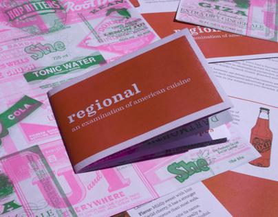 Regional Food Zine, Issue 8: Soda Pop
