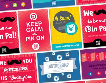 Social Media Postcards