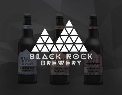 Black Rock Brewery Branding