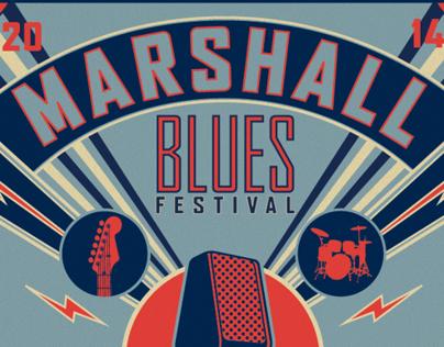 2014 Marshall Blues Festival