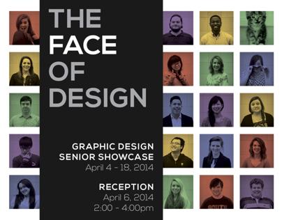 The Face of Design: Graphic Design Senior Showcase