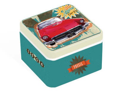 Packaging: Fossil Tin Design Contest