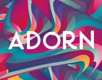Adorn   Visual Identity   Beauty & Hairstyle