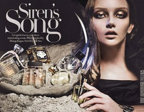 Siren's Song with Zhang Jingna - Harper's BAZAAR