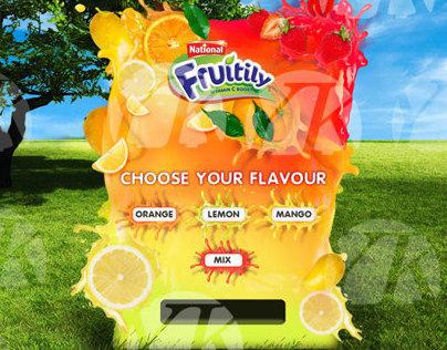 National FRUITILY - Vending Machine