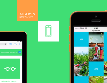 Algomin - Responsive Website