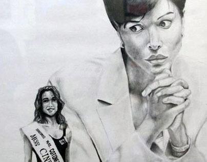 Mara Carfagna Illustration