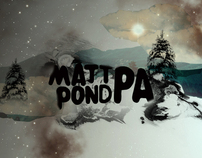 matt pond PA website splash pages