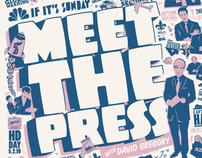 MEET THE PRESS - TITLES, TYPE & LOGOS I