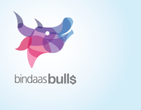Logo Design (Bindaas Bulls)