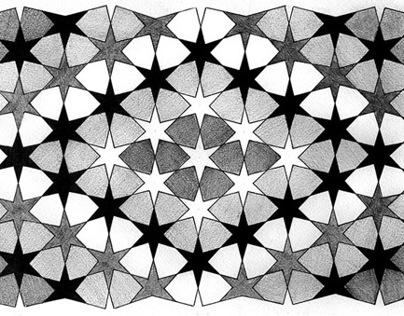 Monochrome Geometry ➔ ISLAMIC ART