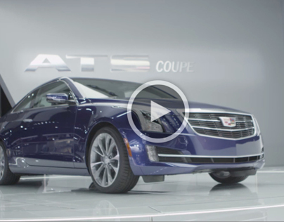2015 CADILLAC ATS COUPE REVEAL