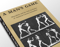 Book Cover Design: A Mans Game