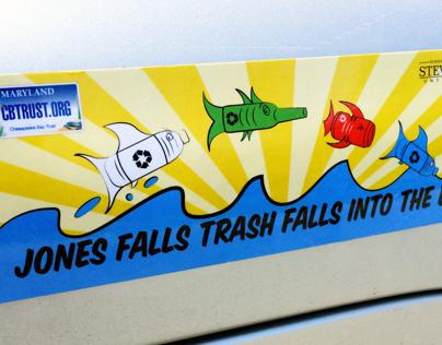Chesapeake Bay Trust—Bumper Sticker Design