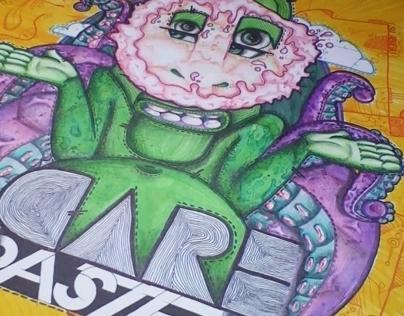 Care Pastel  | Desoqp Ink