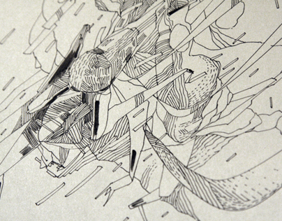 mji14 drawing cycle / puzzle