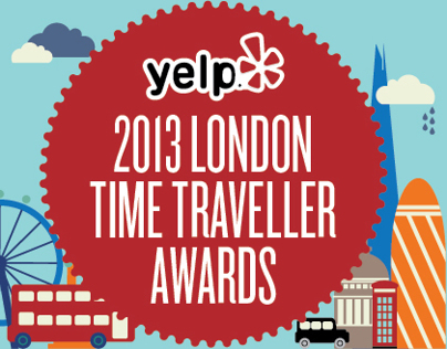 2013 London Time Traveller Awards
