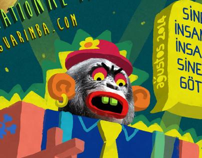 Invader Monkey