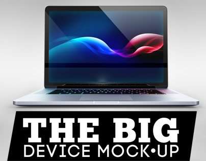 The Big Device Mock-up - Desktop & Laptop
