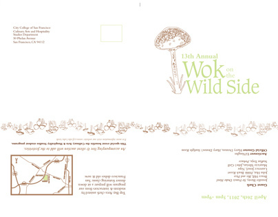 Wok on the Wild Side (Invitation)