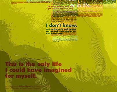 Milton Glaser Overprinted Interview