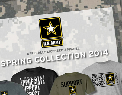 Army Apparel for 540 Brands