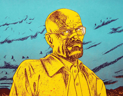 The Great Heisenberg | Breaking Bad Screenprint