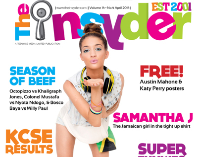 The Insyder Magazine April Issue