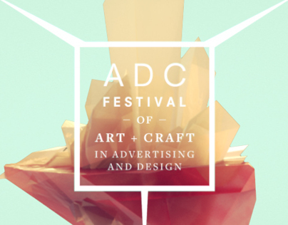 Art Director Club Festival Awards 2014 IDs