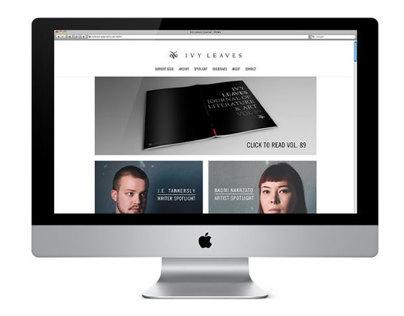 Ivy Leaves Journal Website