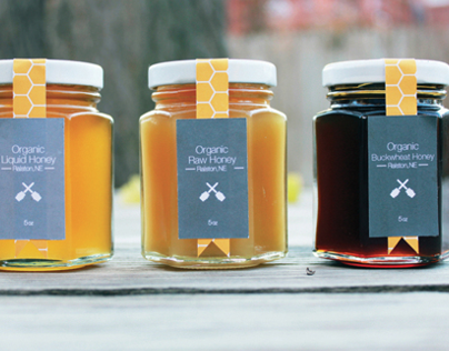 All About Bees Logo & Packaging