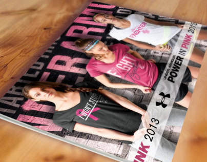 Under Armour Power in Pink 2013 Catalog