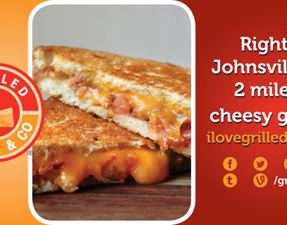 Grilled Cheese & Co - 8x4 Johnsville Rd Banner