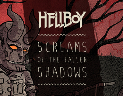 hellboy screams of the fallen shadows