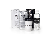 TAXI CAFÉ packaging design