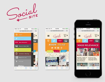 SXSW 2014 Mass Relevance Social Site