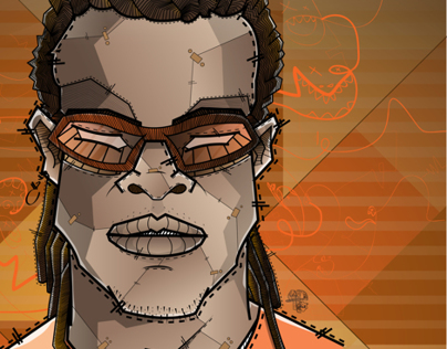 Edgar Davids THE PITBULL  | Desoqp Ink