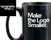 TypographyShop Coffee Mugs