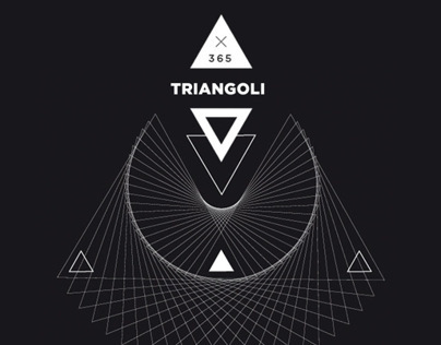 365 TRIANGOLI | Graphic Project | 1 for Day