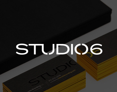 STUDIO 06 Brand Identity
