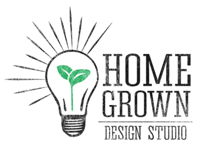 Home Grown Design Studio Website and Identity