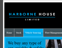 Harborne House Limited - Website design project