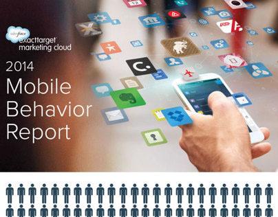 2014 Mobile Behavior Report Infographic