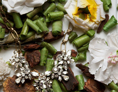 Flora Jewelry Styling & Photography