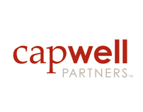 Capwell logo and identity