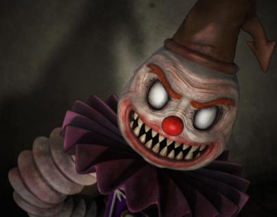 Scary Box Clown