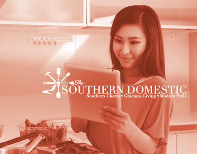 The Southern Domestic Blog Branding