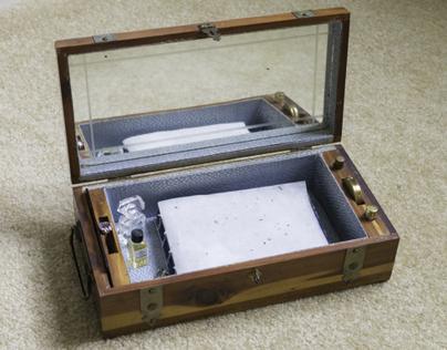 Cyanotype Photogram Book