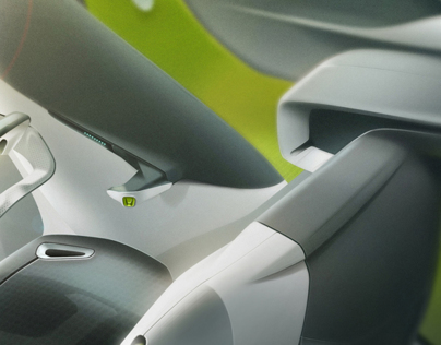 Honda 2-seater Pickup Interior Concept