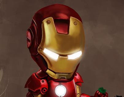 Iron Man In Potty